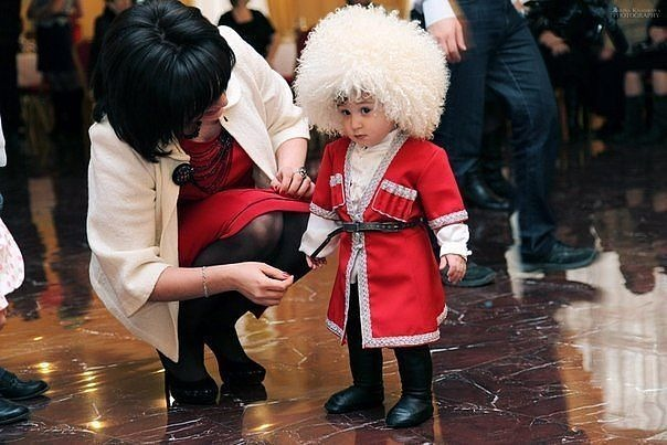 дети кавказские картинки